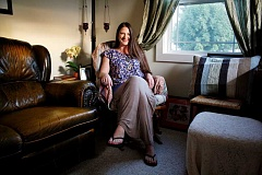 POST PHOTO: KYLIE WRAY - Shana Madsen, a resident of Boring, just opened her business Alter Your Ego Hypnosis, which specializes in hypnotherapy and Reiki.