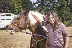 CONTRIBUTED PHOTO: BRIAN PASKO PHOTOGRAPHY - The 2015 Celebration in Boring offers activities for families such as pony rides to raise money for a playground for families at Boring Station Trailhead Park.