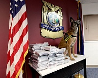 COURTESY OF PPB - Portland K-9 officer Nikko, who died Monday after fighting cancer, worked with the bureau's drug and vice officers, helping sniff out hundreds of pounds of meth, cocaine and marijuana.