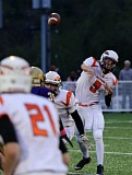 JOSIE WELTER - Scappoose quarterback Robert Lohman hit 19 of 22 passes for 236 yards and three touchdowns in a 47-13 win over Astoria on Friday night.