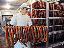 NEWS-TIMES FILE PHOTO - Youll want to head to Verboort with plenty of time to spare Nov. 7 as the lines for sausage and sauerkraut are bound to be long.