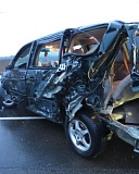 OREGON STATE POLICE - A Woodburn woman is dead after the vehicle she was traveling in was rear-ended by an alleged drunk driver early Sunday morning.