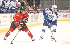 COURTESY: DAYNA FJORD/PORTLAND WINTERHAWKS - Rihards Bukarts has four points in five games since joining the Portland Winterhawks this season.