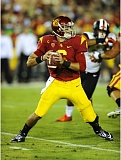 COURTESY: USC - Quarterback Cody Kesslers pass efficiency stands out on a USC offense with plenty of running backs.