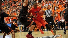COURTESY: OREGON STATE UNIVERSITY - Gary Payton and Oregon State lifted their record 3-0 with a victory Thursday night at Rice.