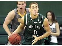 COURTESY: LARRY LAWSON - Sophomore guard Isaiah Pineiro sparked Portland State to a road win Sunday with his production off the bench.