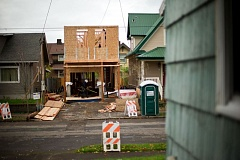 PORTLAND TRIBUNE FILE PHOTO - Neighborhood leaders are afraid the Comp Plan will increase residential density, even though most growth is targeted for downtown, urban centers and transportation corridors.
