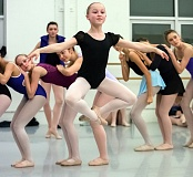COURTESY BLAINE TRUITT COVERT - Twelve sudents from Beavertons Arts & Communications Magnet Academy - including Alexa Campbell - will dance with The Portland Ballet in its performances of Firebird and Day by Day this weekend at Lincoln Hall on the Portland State campus in downtown Portland.