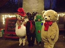 SUBMITTED PHOTO - Holiday characters will be in attendance tomorrow night at the 51st annual Holiday Tree Lighting. Dont miss the fun!