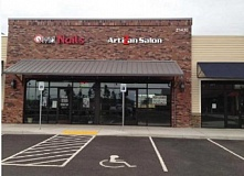SUBMITTED PHOTO - AriZan Salon and Koba Grill will soon open in the Parkway Village at Sherwood complex.
