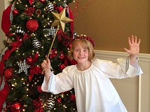 SUBMITTED PHOTO  - Maggie MacKenzie as Gladys in Lakewood Theatre Companys production of The Best Christmas Pageant Ever playing Dec. 17-23. Order tickets online at lakewood-center.org or call 503-635-3901.