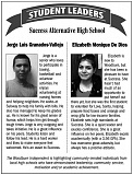 WI - Student leaders of the week