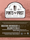 SUBMITTED ART - Attend Pints from the Past, a free discussion series and ongoing collaboration between Clackamas County Historical Society and Oregon City Public Library. The event takes place at the Midway Bar, 1003 Seventh St. in Oregon City. Doors open at 5:30 p.m.; the talk starts at 6:30 p.m.