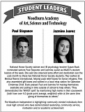 WI - WAAST student leaders of the week