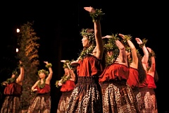 SUBMITTED PHOTO  - Enjoy Polynesian-style dance, Hawaiian food and island culture at the 10th annual Hoike to be held Jan. 30 at Portland Community Colleges Sylvania campus. The event features matinee and evening performances, plus luau and silent auction.