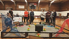 COURTESY PHOTO: SHERIE MORAN - North Marion teams compete in a qualifying round at Willamette High School in Eugene.