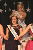 COURTESY: OREGON DAIRY WOMEN - Sara Pierson is crowned the 2016 Oregon Dairy Princess-Ambassador at a coronation event in Salem Saturday.