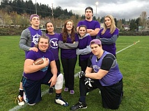 SUBMITTED PHOTO:  - Get a team together to play in the co-ed flag football league.