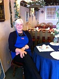 STAFF PHOTOS: BARB RANDALL - Moya Stephens, owner of Lady Dis British Shop and Tea Room, shares her British cuisine this week.