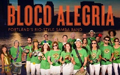 Mountain Park Homeowners Association continues its concert series with Rio! Bloco Alegria, Portlands only Rio-style samba band, at 7 p.m. Feb. 26. Bloco Alegria will present the heart-thumping sounds of Carnival and create a festive celebration the whole family will enjoy, complete with Brazilian percussion instruments, guitarists, singers and costumed samba dancers.  The concert will be held at the rec center, 2 Mt. Jefferson Terrace. Doors open at 6 p.m., and the show begins promptly at 7 p.m. Admission is $8 per person, children 3 and younger are admitted free of charge. Tickets can be purchased at the rec center in advance at the front desk, or at the door the evening of the event.
