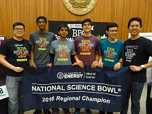 SUBMITTED PHOTO - Westview High School's Team 1 again captured first place in the BPA Regional Science Bowl and earned another berth in the national competition this spring.