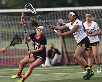VERN UYETAKE - Garland Horwitz is one of a handful of talented young returners for a Lake Oswego girls lacrosse team that hopes for a third state title in five years.
