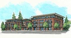 IMAGE COURTESY OF SERA ARCHITECTS - Construction could start in July on Urban Asset Advisor's planned apartment and commercial complex at 7707 S.W. Capitol Highway.