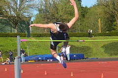 SPOKESMAN PHOTO: COREY BUCHANAN - Harrison Steiger won four events against Liberty and one event at the Willamette Falls Invitational.