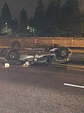 SUBMITTED PHOTO: TIGARD POLICE  - This is the second accident this month on Hwy. 217 involving a wrong way driver.