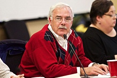 TIMES FILE PHOTO - Tualatin City Councilor Ed Truax, pictured here in December 2015, presided over Monday's meeting at the Juanita Pohl Center.