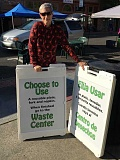 COURTESY PHOTO - Forest Grove resident and Master Recycler Cecelia Warner will once again bring her conservation message to the Forest Grove Farmers Market this year.