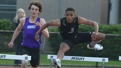 PAMPLIN MEDIA GROUP - Jesuit senior Julian Body is the defending Class 6A champion in the 110- and 300-meter hurdles. Body has committed to Stanford.