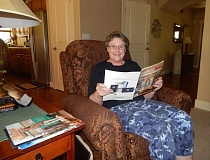 BARBARA SHERMAN - Genie Bunge enjoys her varied volunteer work with the Tualatin chapter of the Daughters of the American Revolution and enjoys reading its 'American Spirit' magazine.