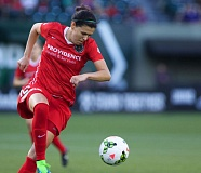 TRIBUNE FILE PHOTO: JAIME VALDEZ - Christine Sinclair's return to full-time play for the Portland Thorns helped ignite them to a 4-1 victory at home Saturday night over the Washington Spirit.