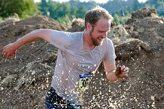 SUBMITTED PHOTO  - The Howl at the Moon adventure run will take place July 29 at Luscher Farm. Sign up now.