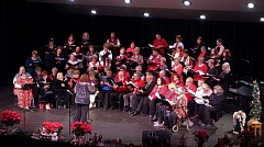 CONTRIBUTED PHOTO: NICK CALABRESE  - In its 25th year, the Gresham Community Choir has become known for its seasonal concerts.