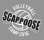 - The 2016 Scappoose Volleyball Camp, for players entering the fifth through 12th grades, will take place from August 1-4 in Scappoose High School's gym.