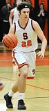 SPOTLIGHT PHOTO: JAKE MCNEAL - Indians senior Class 4A all-state honorable mention forward Ian Donaldson will play with the 2A/3A/4A North Team against the West in the 44th Oregon Athletic Coaches Association All-Star Series on Friday at Northwest Oregon University in Eugene and on Saturday at Pacific University in Forest Grove.