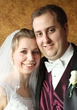 SUBMITTED PHOTO - Sharon and John Harrison on their wedding day.