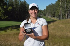 COURTESY: OREGON GOLF ASSOCIATION - Gigi Stoll of Beaverton secured the top seed in match play at the Oregon Amateur hosted by Black Butte Ranch.