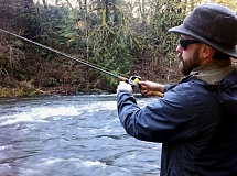 FILE PHOTO - Learn to fish for steelhead on the Sandy River during a workshop Saturday, July 23, at Oxbow Regional Park.