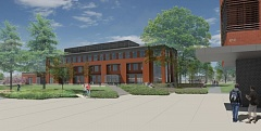 RENDERING COURTESY HENNEBERY EDDY ARCHITECTURE - Rendering of Clackamas Community College's Harmony Phase II.