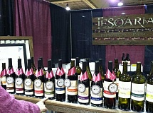 Tesoaria Wines are getting plenty of notice from the winerys 1,500 wine club members and wine industry authorities. The wines have won 107 awards so far this year.