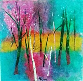 SUBMITTED PHOTO - Lake Oswego artist Rosalyn Kliot will be exhibiting her art at the café at the New Seasons store in Tualatin during the month of July. Kliot describes the paintings as being mostly mixed media collage utilizing a variety of papers and materials, and inspired by both nature and the city. 'My process is generally experimental and intuitive, although I am formally trained,' Kliot writes in her artist statement. 'I work in a variety of media including fiber, and some of the collage works will have a textural quality.' The exhibit opens July 5 and continues through the end of July. New Seasons is located at 7703 Nyberg Road in Tualatin.