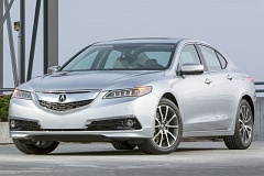 AMERICAN HONDA MOTOR COMPANY - The styling of the 2016 Acura TLX is attractive but conservative, even when equipped with the optional 3.5-liter V6 and Super Handling-All Wheel Drive system - a sleeper for grownups.