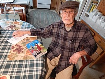 REVIEW, TIDINGS PHOTO: CLIFF NEWELL - Bill Baker has been many things in his life of 92 years, and with his new memoir Leaving Lila he is now an author.
