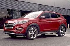 HYUNDAI MOTOR COMPANY - Hyundai's current 'Fluidic Sculpture 2.0' design language resulted in a 2106 Tucson that looks both purposeful and sporty.