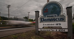 OUTLOOK FILE PHOTO - Damascus voted to disband in the May 2016 electon.
