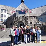 SUBMITTED PHOTO - Join the fun of an excursion to Timberline Lodge. This photo was taken on the last trip organized to the historic landmark by WLACC in 2012.