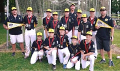PHOTO CREDIT: ST. HELENS LITTLE LEAGUE - The St. Helens majors reached the District 1 Tournament championship game where they fell 19-6 to Wilshire-Riverside (Portland) on Sunday, July 10, at Erv Lind Stadium in Portland.